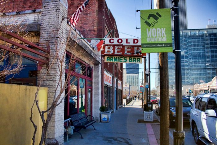 10. It also has a trendy downtown.