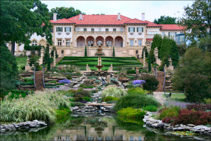 6. Mixed right in with world-class museums, such as the Philbrook Museum of Art.