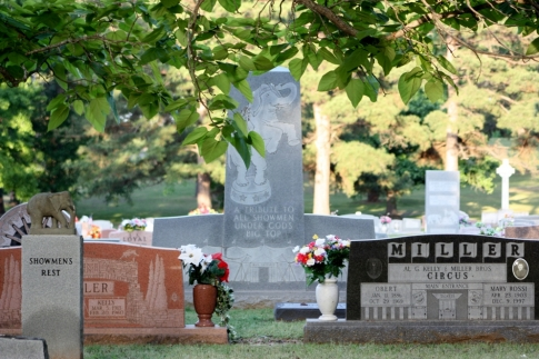 The cemetery draws in visitors from around the world because of its uniqueness and history...and it's right here in small town Hugo, Oklahoma.