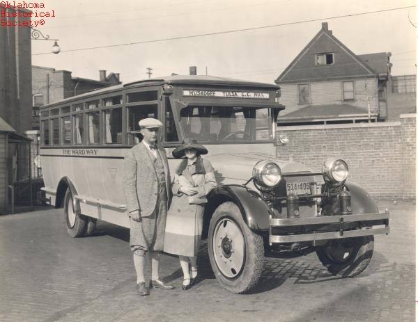 1. The Wardway Bus Line – from Muskogee to Tulsa – 1926.