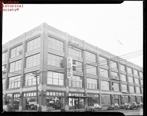 6. The Ford Motor Company Assembly Plant in downtown Oklahoma City opened in August 1916, and soon produced its first cars for regional distribution.
