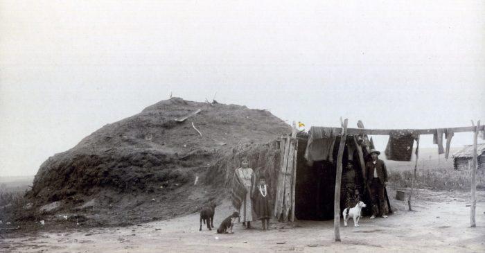 "8.  ""Leading Fox's Mud Lodge,"" 1886."