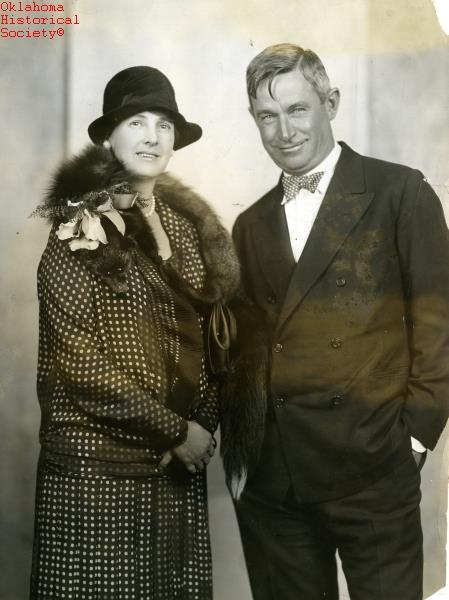 """4. Mr. and Mrs. Will Rogers, November 1928.  Who remembers this quote? """"We will never have true civilization until we have learned to recognize the rights of others."""""""