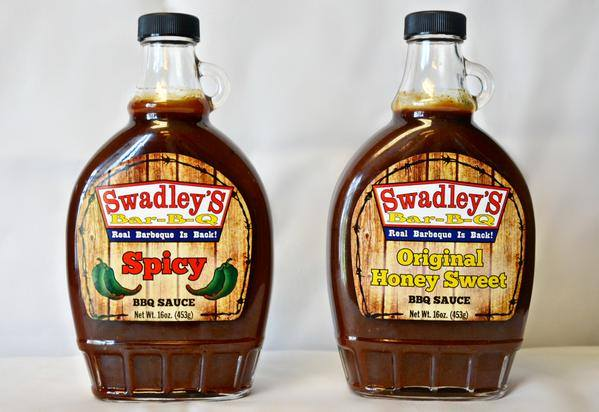 They even have their own sauces:  Honey Sweet, Spicy, Thick & Juicy and Grumpy, all of which are delicious!