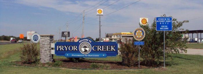 4. Pryor Creek