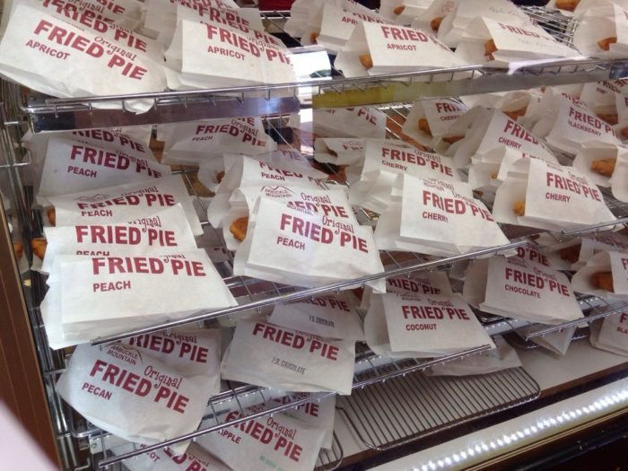 Visitors from around the world stop into Arbuckle Mountain Fried Pies to get a piece of these heavenly pies.