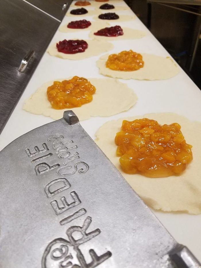 But don't worry, it only takes 3 minutes to craft a hot, made-to-order fried pie.