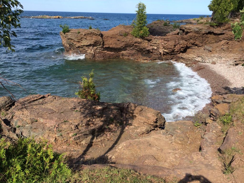 One Of The Most Beautiful Places To Cliff Dive And Swim In Michigan