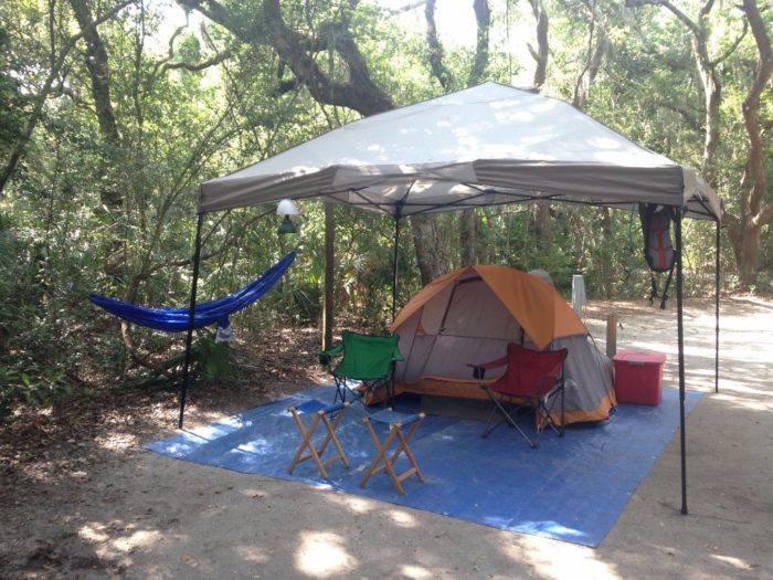 Campgrounds Anastasia Island Fl