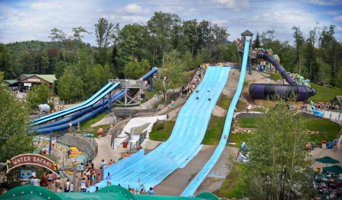 Recently recognized by Travel Channel as one of our nation's greatest water parks, Enchanted Forest Water Safari has to be on your New York summer bucket list.