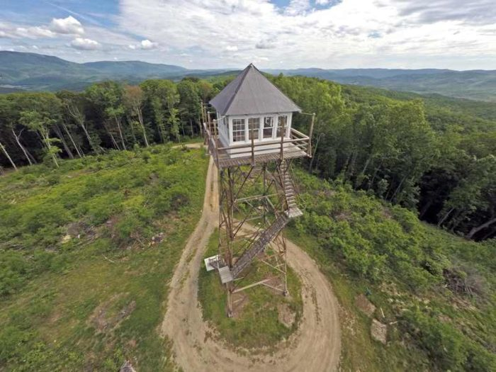 2. Thorny Mountain Fire Tower