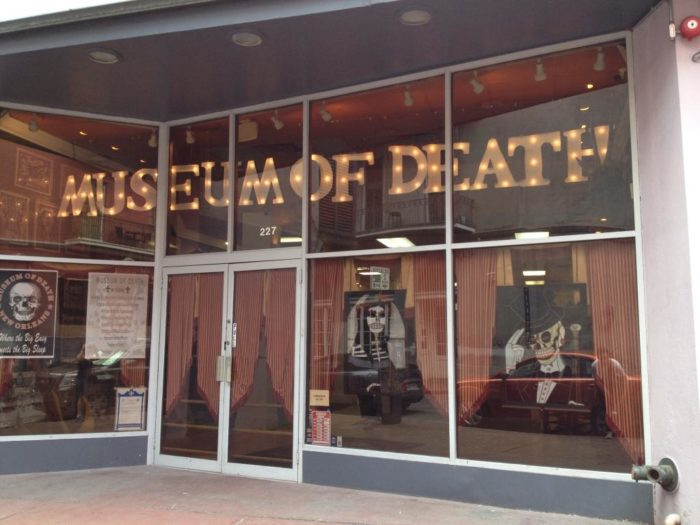 7) Museum of Death, 227 Dauphine St.