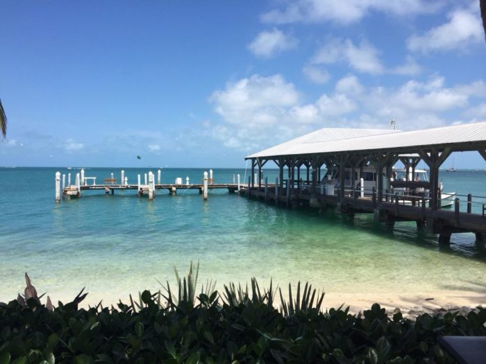 To reach the restaurant, you'll have to take this short ferry ride (about 10 minutes), which departs from The Westin Key West Resort & Marina.