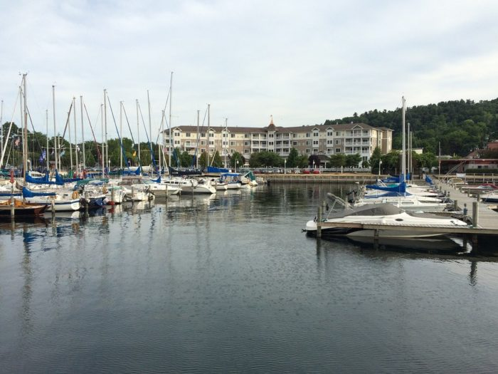 The waterfront hotel overlooks Seneca Lake, one of our most visited Finger Lakes.