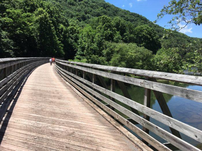 1. Greenbriar River Trail