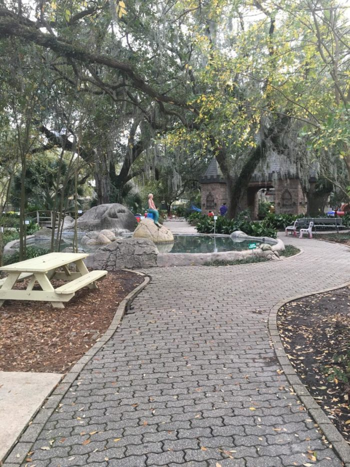 It's located inside New Orleans City Park.