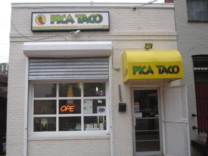 9. Pica Taco - 1406 Florida Avenue NW