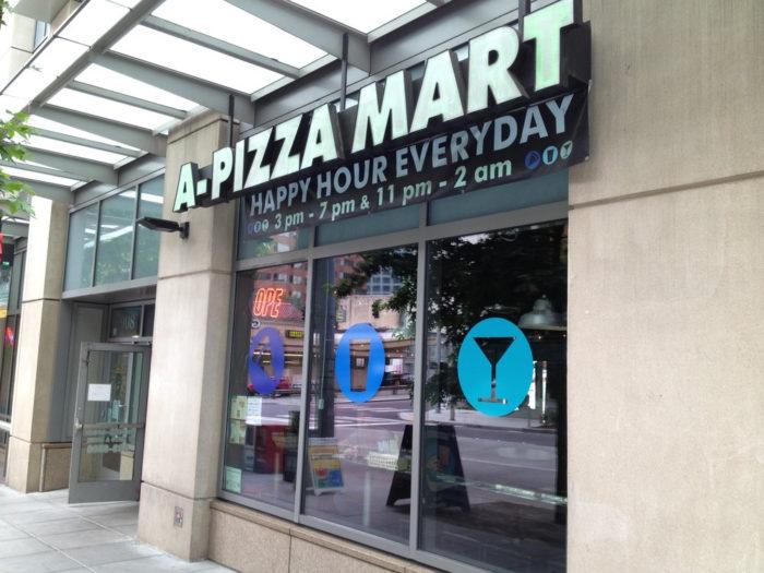 6. A Pizza Mart, West Seattle