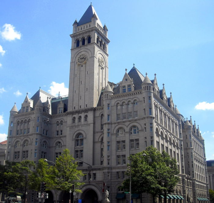 8. Old Post Office Tower