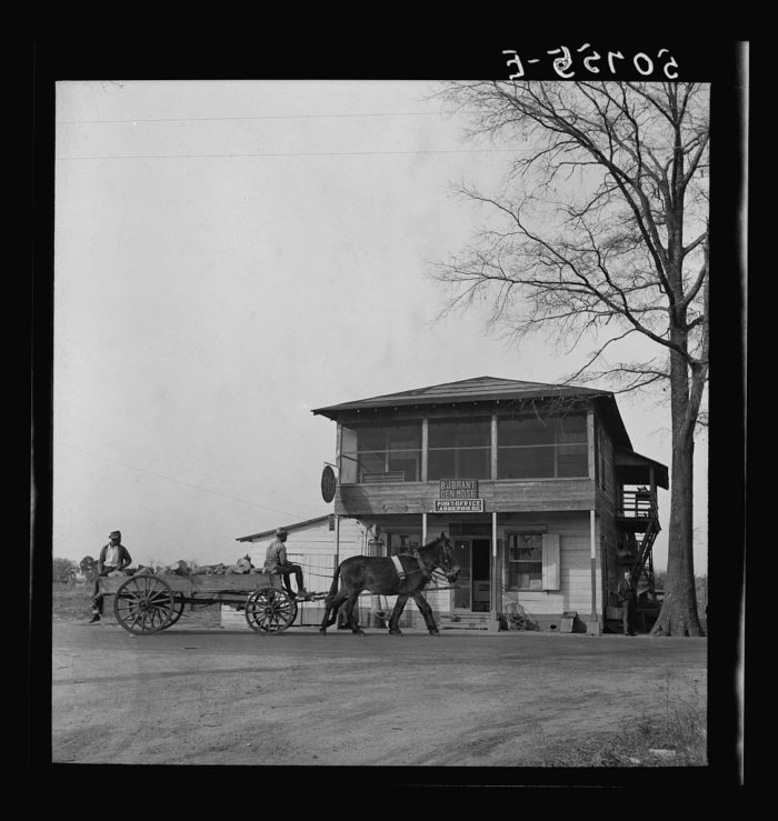 11. A post office was an integral part of the community in the 1930s. Sometimes they were located inside the mercantile/general store.