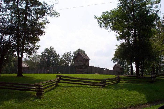 4. Prickett's Fort State Park, Fairmont