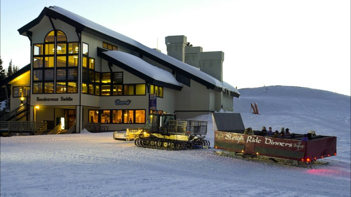 Located inside the Rendezvous Saddle, Ragnar's is a true winter wonderland located atop the majestic Sunshine Peak.