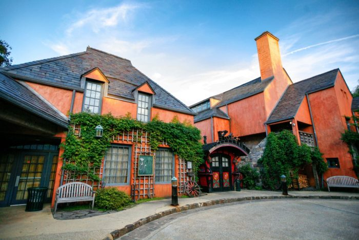Grounds For Sculpture is home to one of the most romantic restaurants in New Jersey.