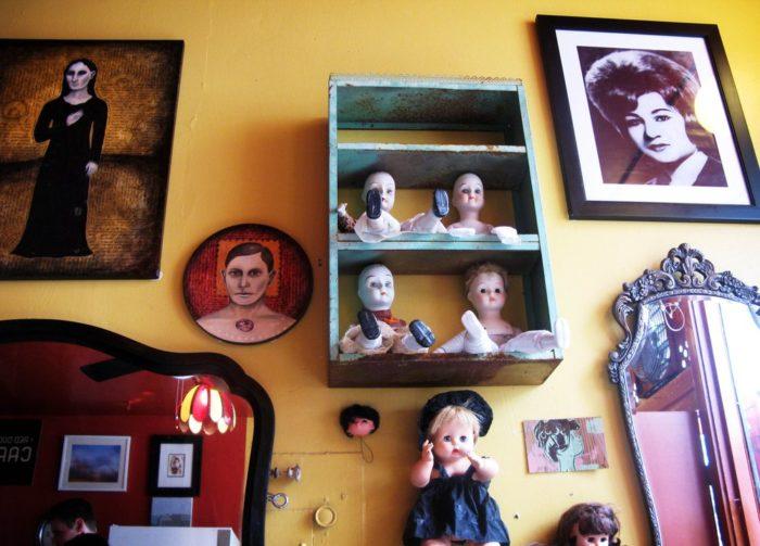 4. Red Door Café
