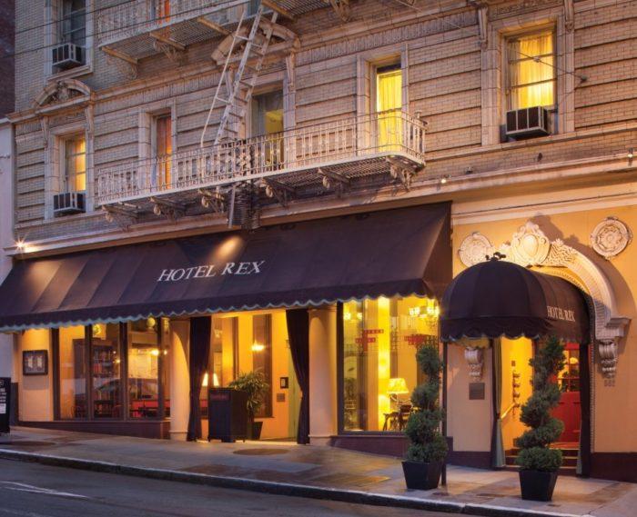 9. Hotel Rex: 562 Sutter Street