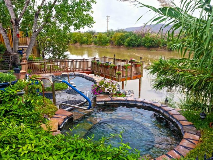 Truth or Consequences used to be called Hot Springs – and for good reason. The thermal waters here contain 38 minerals and the town boasts ten commercial bathhouses where you can unwind - for a very reasonable price.