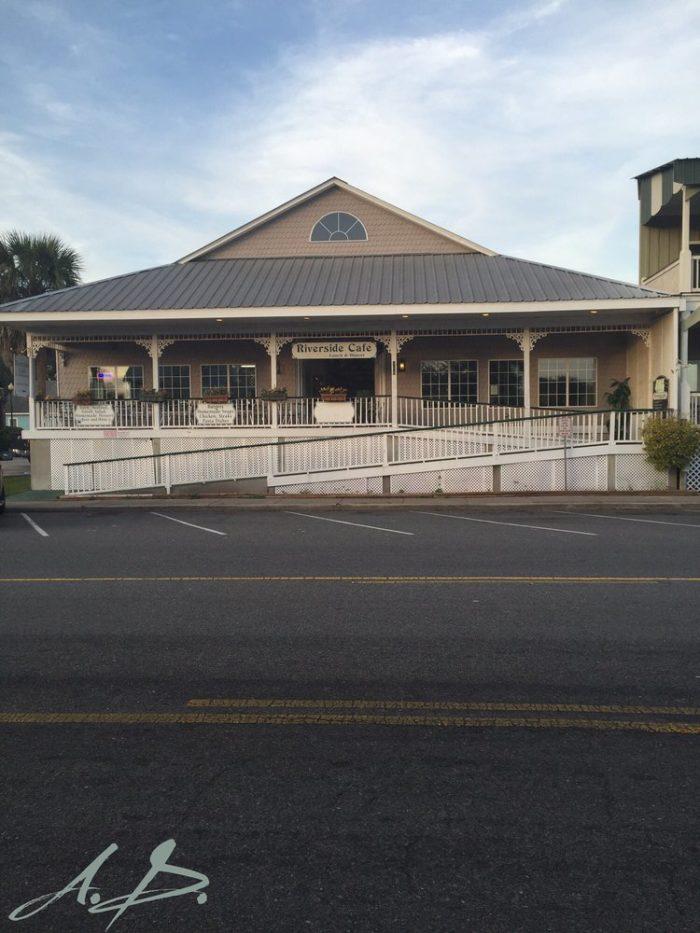 1. Riverside Cafe—106 E Saint Marys St Saint Marys, GA 31558