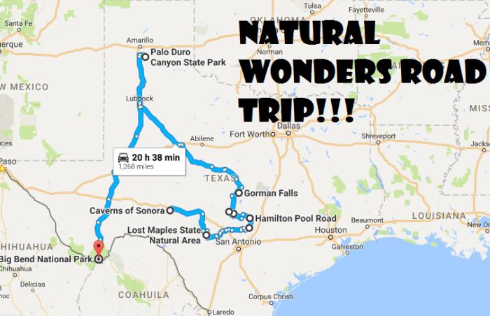 Road Trip Through 9 Of Texas Most Beautiful Natural Wonders