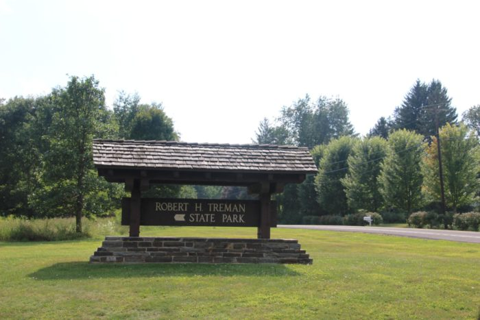 Waiting to be explored, you can find Robert H. Treman State Park out in Tompkins County.