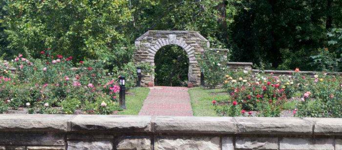 5. Ritter Park Rose Garden, Huntington