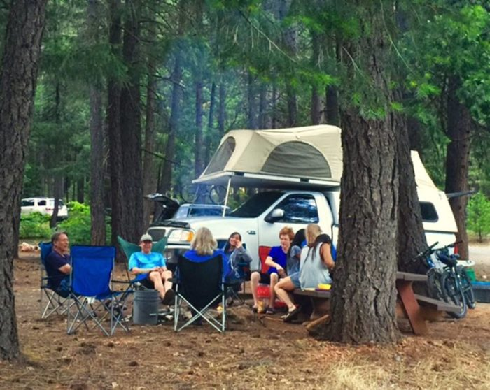 If you'd rather camp, go ahead!
