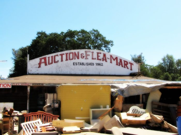 5. Epperson Brothers Auction & Flea Market  21005 Fig Tree Ln, Redding