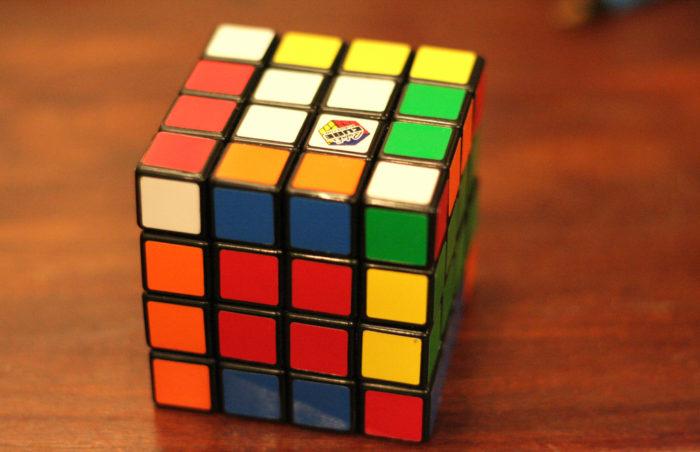 6. Rubik's Cubes