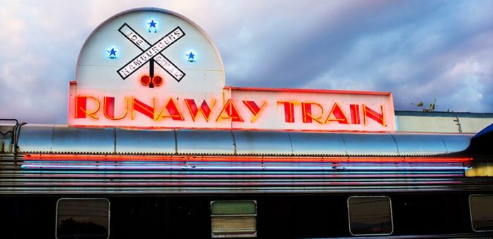 Not only does the train car offer a nostalgic, almost retro vibe, but the food itself is also phenomenal.