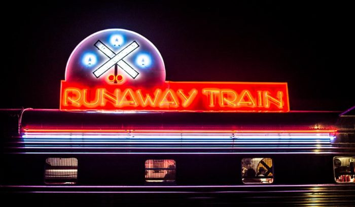 So no matter what you order, dinner in a real, authentic train car is an experience you don't want to miss out on.