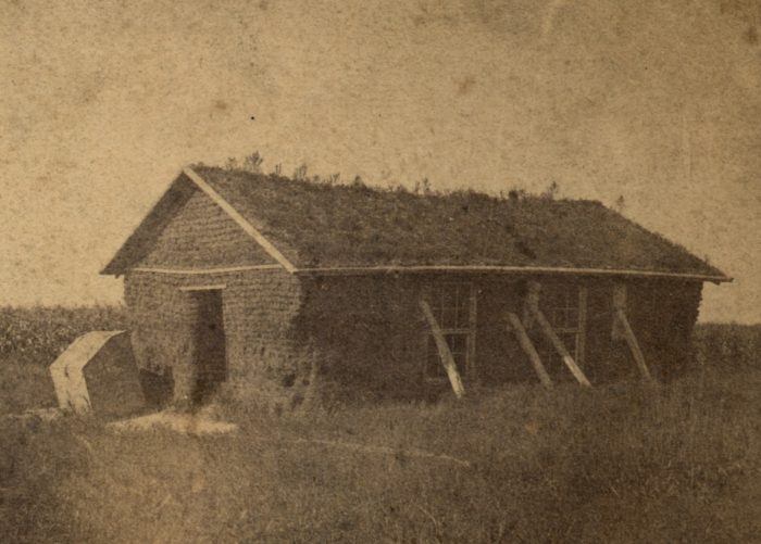 15. Runnelsburg sod school, Hall County