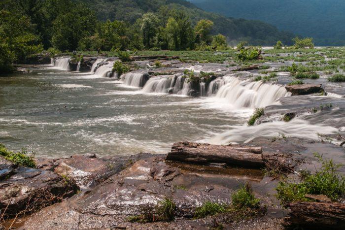 2. Sandstone Falls Loop, New River Gorge National River Area