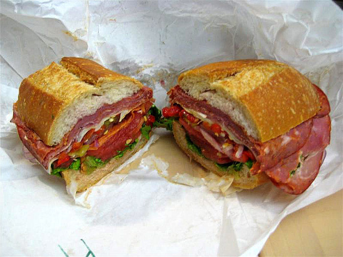 An all-you-can-eat cold sandwich buffet is included in the price.