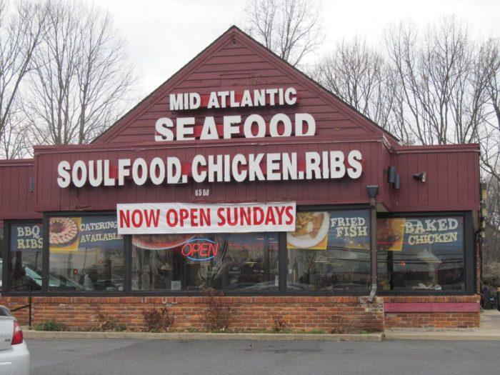 6. Mid Atlantic Seafood, Multiple Locations