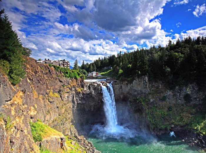 5. Hike down to the bottom of Snoqualmie Falls