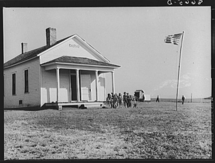 17. Little white schoolhouse, Seward County