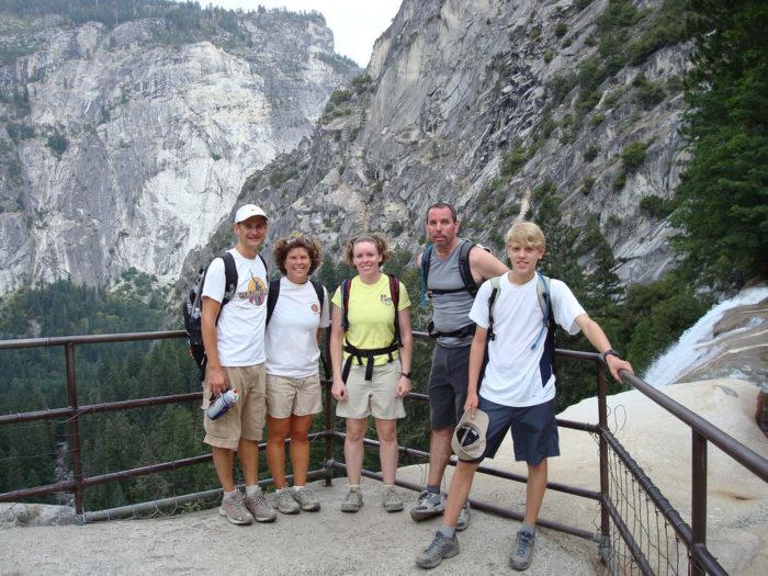 1. Climb Half Dome.
