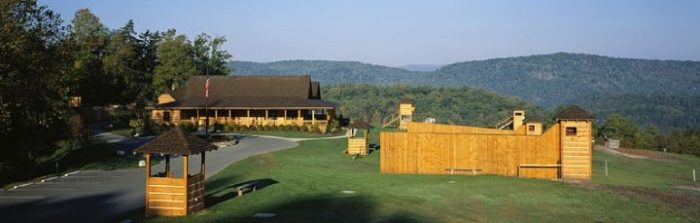 And if you're competitive, the Homestead has a shooting club, paintball, lawn games and archery!