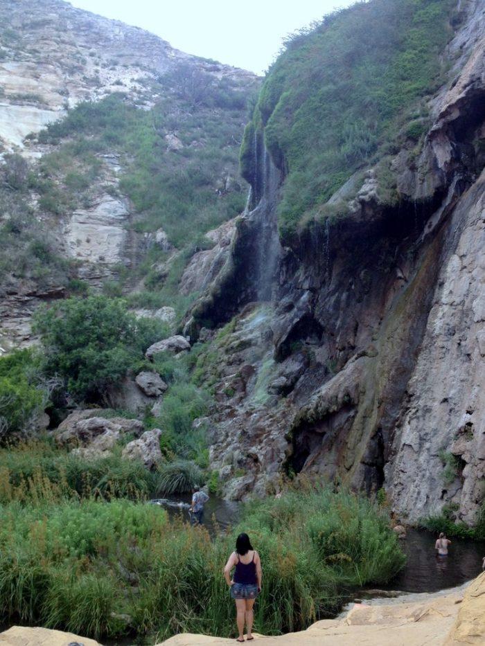 9. Sitting Bull Falls, near Carlsbad