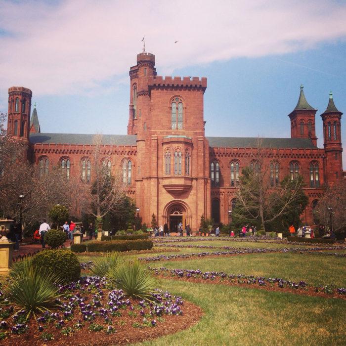 8. Smithsonian Castle