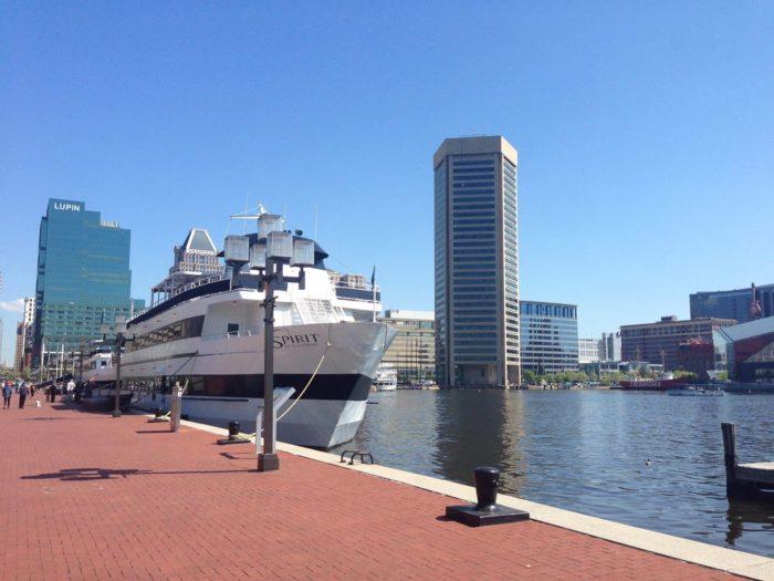 8. Spirit Cruises, Baltimore